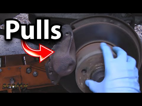 How to Fix Brakes that Pull to One Side