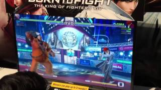 getlinkyoutube.com-The King Of Fighters XIV PS4   KOF XIV Gameplay  PlayStation Experience 2015