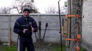 getlinkyoutube.com-Макивара МБШ-2.0. Нокаутирующий удар рукой - моя практика.