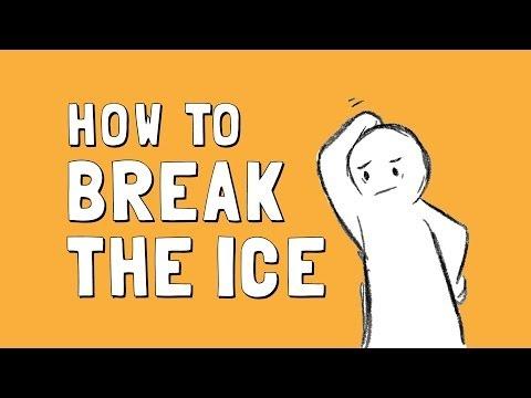Wellcast: How to Break the Ice
