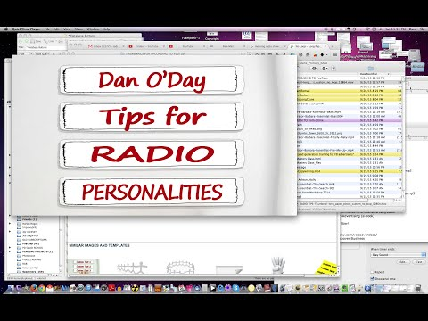 THE RADIO PERSONALITY'S REAL JOB - ROLE OF RADIO DJ Dan O'Day