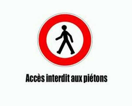 code de la route - Panneaux d'interdiction Vol3