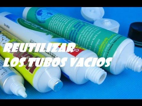 RECICLAR LOS ENVASES DE TUBO