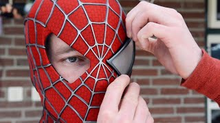 Making the SPIDER-MAN Mask! - Movie Costume Replica width=