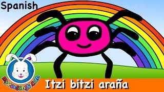 getlinkyoutube.com-Itzi bitzi araña  | música para niños