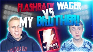getlinkyoutube.com-GUESS WHO!? FLASHBACK WAGER Vs. My Brother!? Madden Mobile