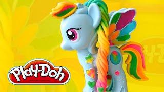 getlinkyoutube.com-Пластилин Плей До - Пони Рэйнбоу Дэш | My Little Pony