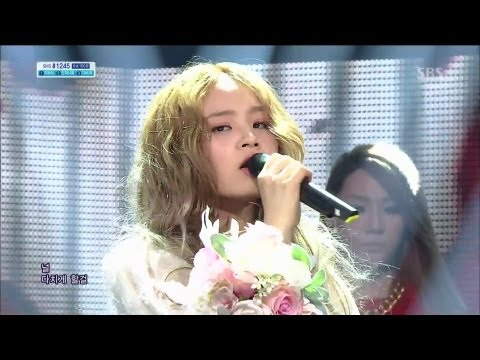 LEE HI (이하이) - ROSE feat. CL @SBS Inkigayo 인기가요 2013.04.14