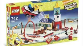 getlinkyoutube.com-New LEGO Set 2007 - 2009 Spongebob