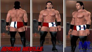 getlinkyoutube.com-WWE ADRIAN NEVILLE UPDATE ATTIRE NXT TAKEOVER CAW FORMULA SVR11 PS2