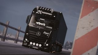 getlinkyoutube.com-ETS2 Mercedes Actros MP4 Interior V8 Sound