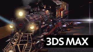 getlinkyoutube.com-3DS MAX - DEATH LOCOMOTIVE ANIMATION