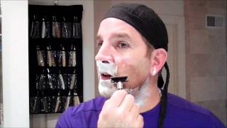 "getlinkyoutube.com-Feather ""Popular"" Safety Razor Shave-Shop at ShaveNation.com"