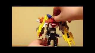 "getlinkyoutube.com-Digimon Fusion / Xros Wars Sparrowmon ""Review"""