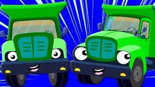 getlinkyoutube.com-The Wheels On The Truck | Nursery Rhyme | Childrens Song | Baby Rhymes