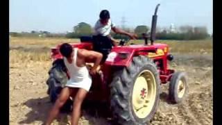 getlinkyoutube.com-tractor stunts by rana