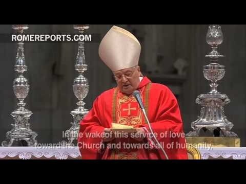 Cardinal electors celebrate 'Pre Conclave' Mass