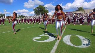 """getlinkyoutube.com-Texas Southern University """"Ocean of Soul"""" Marching Band Halftime at Alcorn State Homecoming 2016"""