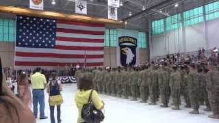 getlinkyoutube.com-Army Coming Home ceremony for Deployed Soldiers returning from Afghanistan