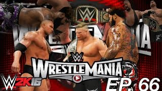 getlinkyoutube.com-WWE 2K16 My Career Mode - WRESTLEMANIA MAIN EVENT! (EP. 66) [PS4/XBOX ONE/NEXT GEN Part 66]