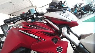 Yamaha fz fi version 2.0 2017 India | Knight Red | Latest Colour | Exclusive Video