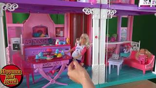 getlinkyoutube.com-Видео с куклами Барби наконец родила дочку у доктора Кевина, Кен счастлив