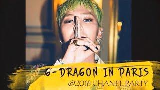 getlinkyoutube.com-G-Dragon in Paris @ 2016 Chanel Party