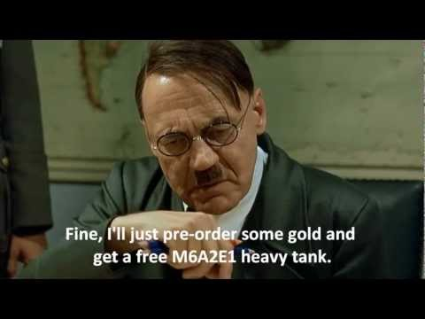 Hitler Reacts to the World of Tanks Pre-Order Bonus