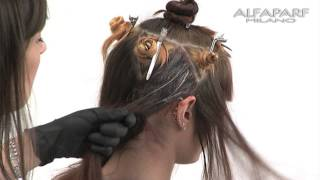 Alfaparf Milano USA - Evolution of the Color³ Creative Color Series: Sunshine Technique
