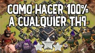 getlinkyoutube.com-Como Hacer 100% a Cualquier Th9   JuegosCoC