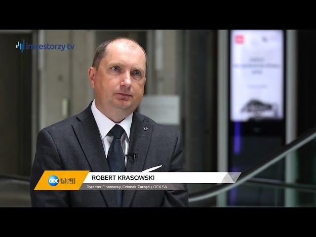 OEX SA, Robert Krasowski - Dyrektor Finansowy, Członek Zarządu, #46 PREZENTACJE WYNIKÓW