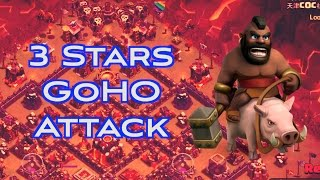 getlinkyoutube.com-[TH10] 3 Stars GoHo attack