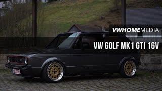getlinkyoutube.com-VW Golf MK1 GTI 16V | Mike Wiese | VWHome