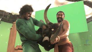 getlinkyoutube.com-Making of Bahubali VFX || Bhallaladeva's(Rana) bull fight sequence VFX Breakdown ||HD 720p