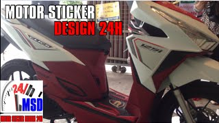 getlinkyoutube.com-Honda click 125i 2016 | Click 2016 new color sticker stamp