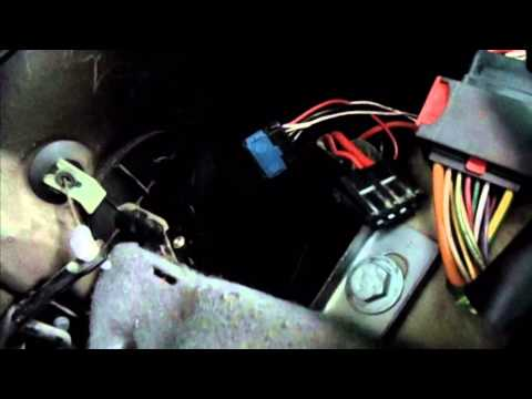 Как снять вентелятор печки ситроен ксара пикассо