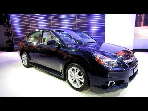 2013 Subaru Legacy AWD 3.6R - Debut at 2012 New York International Auto Show
