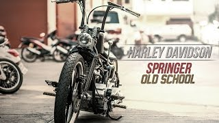 getlinkyoutube.com-Harley Davidson Springer แนว Old School By BoxzaRacing
