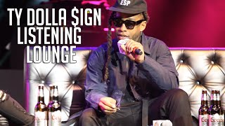 Ty Dolla $ign at the Coors Light Listening Lounge !