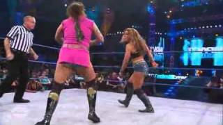 getlinkyoutube.com-TNA Impact : 8/18/11 Mickie James vs ODB with Jackie