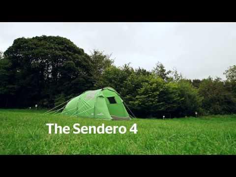 Freedom Trail Sendero 4 Tent
