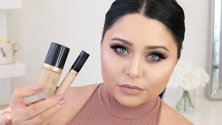 getlinkyoutube.com-Too Faced Born This Way Foundation & Concealer | FIRST IMPRESSIONS REVIEW
