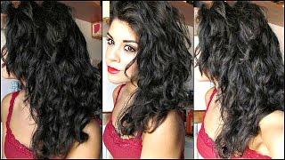 getlinkyoutube.com-FITAGEM ♡ Tecnica brasiliana per capelli ricci,mossi o crespi!