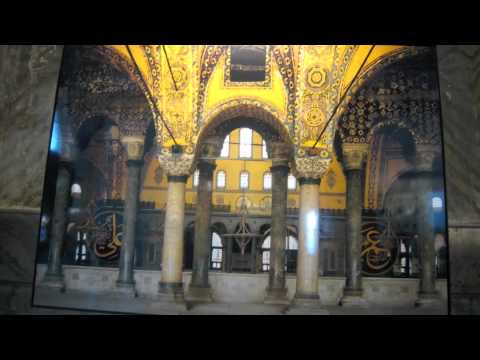 Inside the Hagia Sophia (with special visual effects credits)