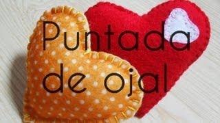 getlinkyoutube.com-Costura a mano: Puntada De Ojal