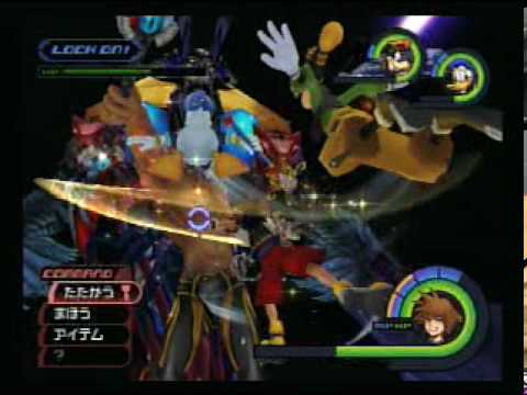 Kingdom Hearts: Final Mix (Proud Mode) - FINAL BATTLE (Part 3)