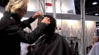 getlinkyoutube.com-COSMETOLOGY: HAIRCUT (soft layers):  fast, easy, and fun, by Michael O'Rourke