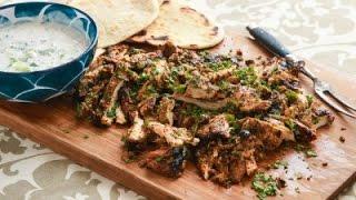 getlinkyoutube.com-شاورما تركية مع صلصة التزاتزيكي التركية -  مطبخ اسيا
