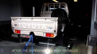 getlinkyoutube.com-Our Supercharged Toyota Land Cruiser 79 Pick-up