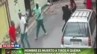 getlinkyoutube.com-Hombre es muerto a tiros a quema ropa y rematado a machetazos